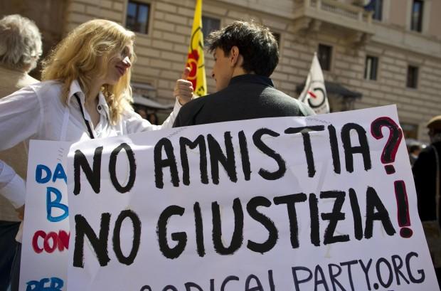 amnistia giustizia no