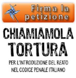 PetizioneTortura