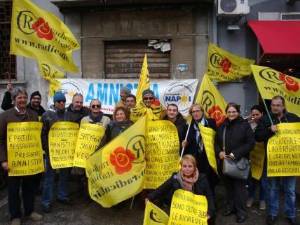 Radicali Carcere Poggioreale Napoli