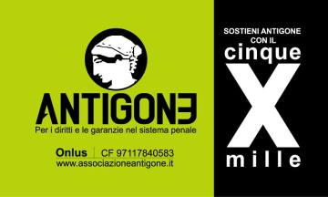 Antigone Cinque per Mille