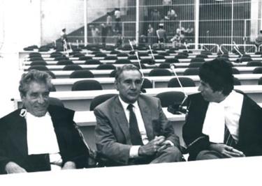 Enzo Tortora, Alberto Dall'Ora e Raffaele Della Valle
