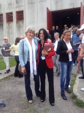 Maria Brucale con Rita Bernardini