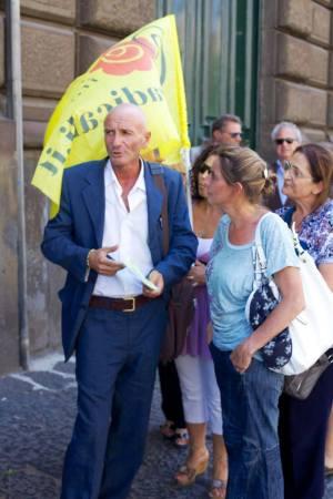 Luigi Mazzotta, Dirigente Radicale