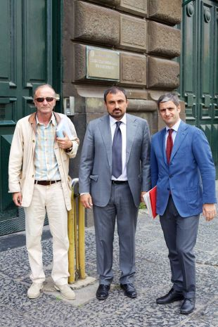 Luigi Mazzotta e Corrado Gabriele