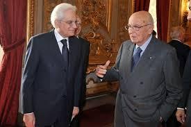 Mattarella - Napolitano