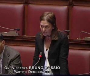 On. Bruno Bossio Pd