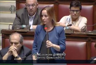 On. Eleonora Cimbro PD