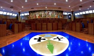 Aula Consiliare della Regione Calabria