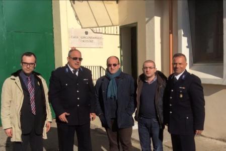 Delegazione Radicale visitante il Carcere di Crotone