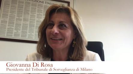 Giovanna Di Rosa Presidente TdS di Milano